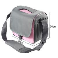 Pink Camera Bag Case F Canon Rebel T5i T4i T3i T2i EOS 700D 650D 600D 550D DSLR