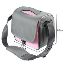 Camera Bag Case Cover Pink for Canon EOS 550D 600D 650D 60D 7D *