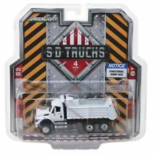 Greenlight 1/64 SD Trucks S4 International Construction Dump Truck WHITE 45040-A