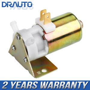 12V Universal Windshield Washer Pump For Land Rover VW Austin Jaguar  MG MGB