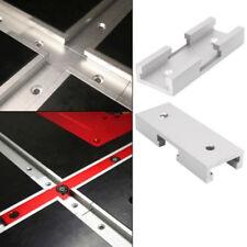 T-Track Connettore 100mm Argento Portatile 1 Pezzo Lega di Alluminio