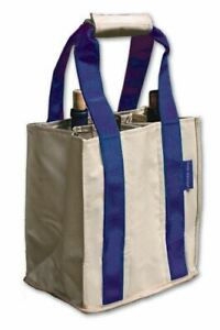 Fine Whines Canvas Party to Go Tote - Purple