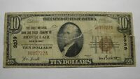 $10 1929 Montclair New Jersey NJ National Currency Bank Note Bill! Ch. #9339