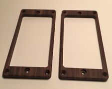 Guilford Indian Rosewood  pickup ring set for PRS guitar - Flat - Recessed Holes