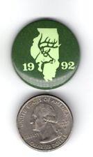 1992 Illinois Deer Archery Pin Successful Hunter Pin Badge-Michigan Deer Patches