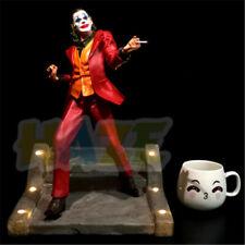 2019 Joker Joaquin Phoenix Authur Fleck Resin Figure Model with LED Light