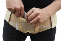 Double Inguinal Hernia Support Belt Truss brace Hernia Belt Groin Pain Relief AU