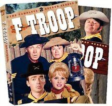 F Troop Season 1 2 DVD Set Series TV Show Collection Lot Episodes Forrest Tucker
