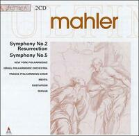 Mahler: Symphonies Nos. 2 and 5 (CD, Sep-1999, 2 Discs, Teldec (USA))