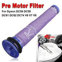 Pre Motor Filter Cleaner For Dyson V6/7/8 DC58/59/61/6/74 Replacement Parts NICE