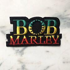Bob Marley Iron On Patch Embroidered Badge Rasta Reggae Music Jamaica
