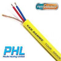 Van Damme Yellow Tour Grade Classic XKE Microphone Cable 268-025-040 Per Metre