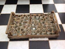 Retro Vintage Wedding Handmade Glass Linen Lace Jars x46 Candle Holders Lights