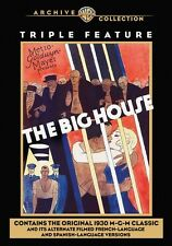 The Big House Triple Feature DVD (english French Spanish Versions) Remeastered
