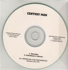 (AC289) Century Man, Marauder / Mirrors - DJ CD