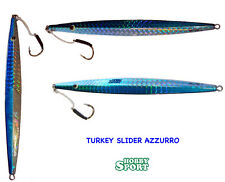 VERTICAL JIG TURKEY SLIDER GR 170 TS 04- AZZURRO (BLUE SILVER)