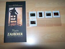MARIO UND DER ZAUBERER - Presseheft ´94 + 5 DIAS - KLAUS MARIA BRANDAUER