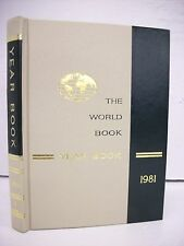 World Book Encyclopedia Yearbook - 1981 - Review of Events in 1980 Free Shipping