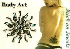 BODY TATTOO TEMPORARY STICKER belly dancing festival S.U.N. gypsy rave