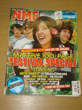 NME 2007 MAY 26 ARCTIC MONKEYS MY CHEMICAL ROMANCE MUSE