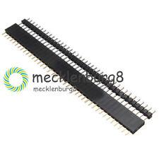 5Pair Male & Female 40pin 2.54mm Header Socket Row Strip PCB Connector NEW
