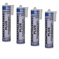 4 x Klebstoff Alleskleber Fugenfüller Kraftkleber MS Polymer Dichtstoff