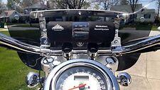 "KICKSTART BLUETOOTH MOTORCYCLE ATV STEREO SPEAKER RADIO W/ 1 1/8"" HANDLEBAR KIT"