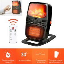 Mini-Heizung 1000W Fernbedienung Heizlüfter kompakt Steckdose mobile Heizung NEU