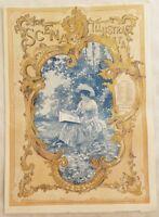 SCENA ILLUSTRATA 1 DICEMBRE 1894 REYNOLDS STEPHENS BONG WARENS SIGARETTA