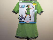 Legend Of Zelda Link Halloween Costume World Nintendo Size 4/6, 10-12 *New*