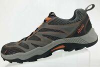 Ahnu Hiking Shoes Walking Gray Jogging Cross Fitness Athletic Sneakers Mens 8