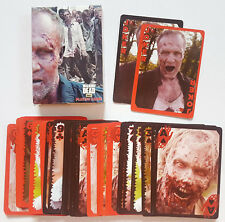 AMC OFFICIAL THE WALKING DEAD PLAYING CARDS WALKER DECK COMPLETE