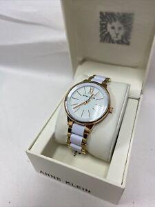 Anna Klein Gold/White AK 1412WTRG Woman's watch
