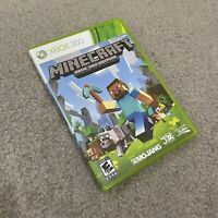 Microsoft XBOX 360 MINECRAFT (XBOX 360 EDITION)  No Manual