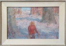 Peter Larsen Birkebjerg: (1907-1993): GIRL IN FOREST