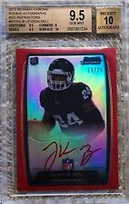 2013 BOWMAN CHROME RED REF AUTO /25 LE'VEON BELL RC BGS 9.5...HOT...CARDREGISTRY
