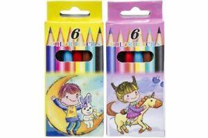 48 Buntstifte - Mitgebsel für Kindergeburtstag - Malstifte - Tombola