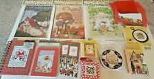 New Lot (13) Mary Engelbreit Items.Journal/Cards/Coast ers/Sewing/Transfers+