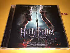 HARRY POTTER and DEATHLY HALLOWS part 2 soundtrack CD alexandre DESPLAT score