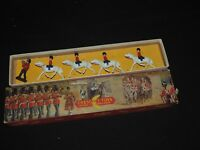 Toy SOLDIERS CRESCENT TOYS MADE IN ENGLAND & BOX HORSE RIDERS