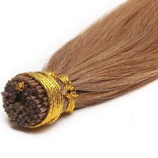 I Tip 100% Virgin Human Hair Extensions Pre Bonded Keratin Stick 100 strands 7A