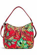 Vera Bradley Vivian Hobo Bag Rumba Coral Spring Red Orange Medium Quilted New