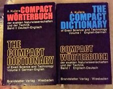COMPACT WÖRTERBUCH Naturwissenschaften und Technik / THE COMPACT DICTIONARY