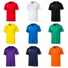 PUMA Unisex LIGA Jersey Core Tee  / T-Shirt Kurzarm V-Neck 703509