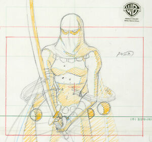 Batman Beyond-Curare-Original Production Drawing--A Touch Of Curare