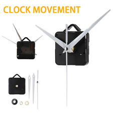 Quartz Well Clock Movement Mechanism Repair Parts DIY Tool Kit + White Hands US