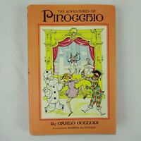 The Adventures of Pinocchio by Carlo Collodi 1955 1st Ed Hardcover Dust Jacket