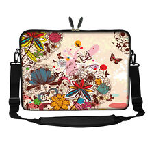 "17.3"" Laptop Computer Sleeve Case Bag w Hidden Handle & Shoulder Strap 3010"