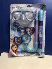 Didney Frozen Dive And Swim Snorkel Fun Set Mint On Card