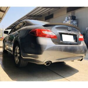 Stock 284 PDL Rear Trunk Lip Spoiler Wing For 2011~19 Infiniti M25 M37 Y51 Sedan